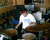 Zufallsbild - 2004 - Warte nich auf morgen - Recording Basti in Wieck