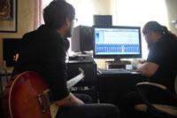 Zufallsbild - Rosenquarz-Studio 2012 - Guitar-Recording