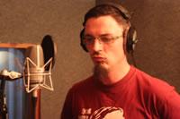 Rosenquarz-Studio 2012 - Vocal-Recording Thom von Zaunpfahl