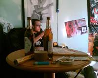 Proberaum 2007 - Kegel und Bier