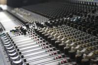Rosenquarz-Studio 2012 - Mischpult