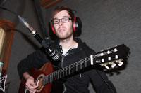 Rosenquarz-Studio 2012 - Acoustic-Gitarre-Recording